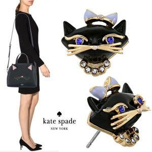 New🐱kate spade Jazzy Things Cat Earrings!